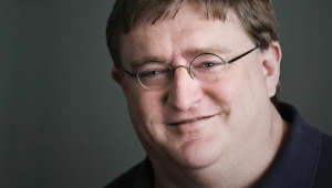 Gabe Newell Computer Wallpaper