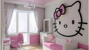 Girls Pink Chandeliers