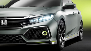 Honda Civic 2017 Widescreen