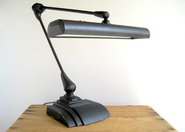 industrial modern desk lamp. Black Bedroom Furniture Sets. Home Design Ideas