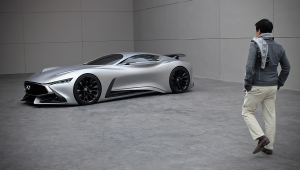 Infiniti Vision GT Concept Photos