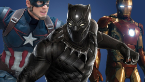 Ironman Captain America Civil War Black Panther Wallpaper