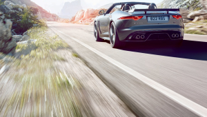Jaguar F Type SVR Wallpaper