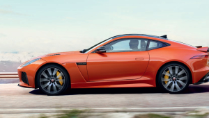 Jaguar F Type SVR Widescreen