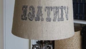 Lamp Shades Burlap