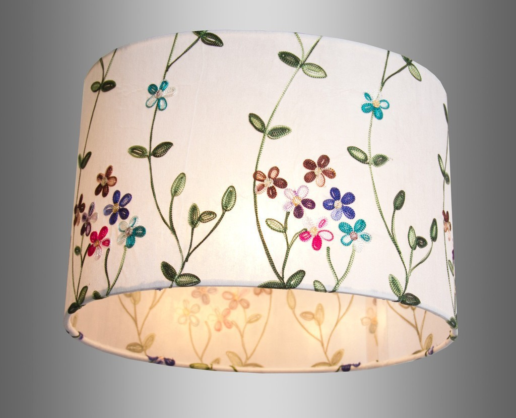 Lamp Shades Embroidered