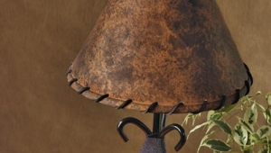 Leather Lampshades