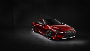 Lexus LC 500h Wallpaper
