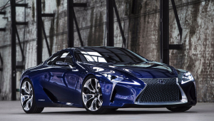 Lexus LC 500h Wallpaper For Computer