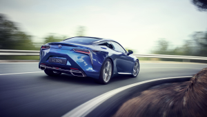Lexus LC 500h Wallpaper For Laptop