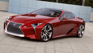 Lexus LC 500h Wallpapers