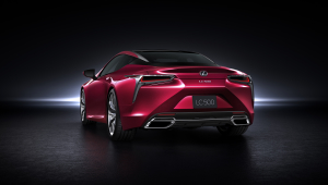 Lexus LC 500h For Desktop Background