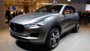 Maserati Levante SUV Wallpapers HD