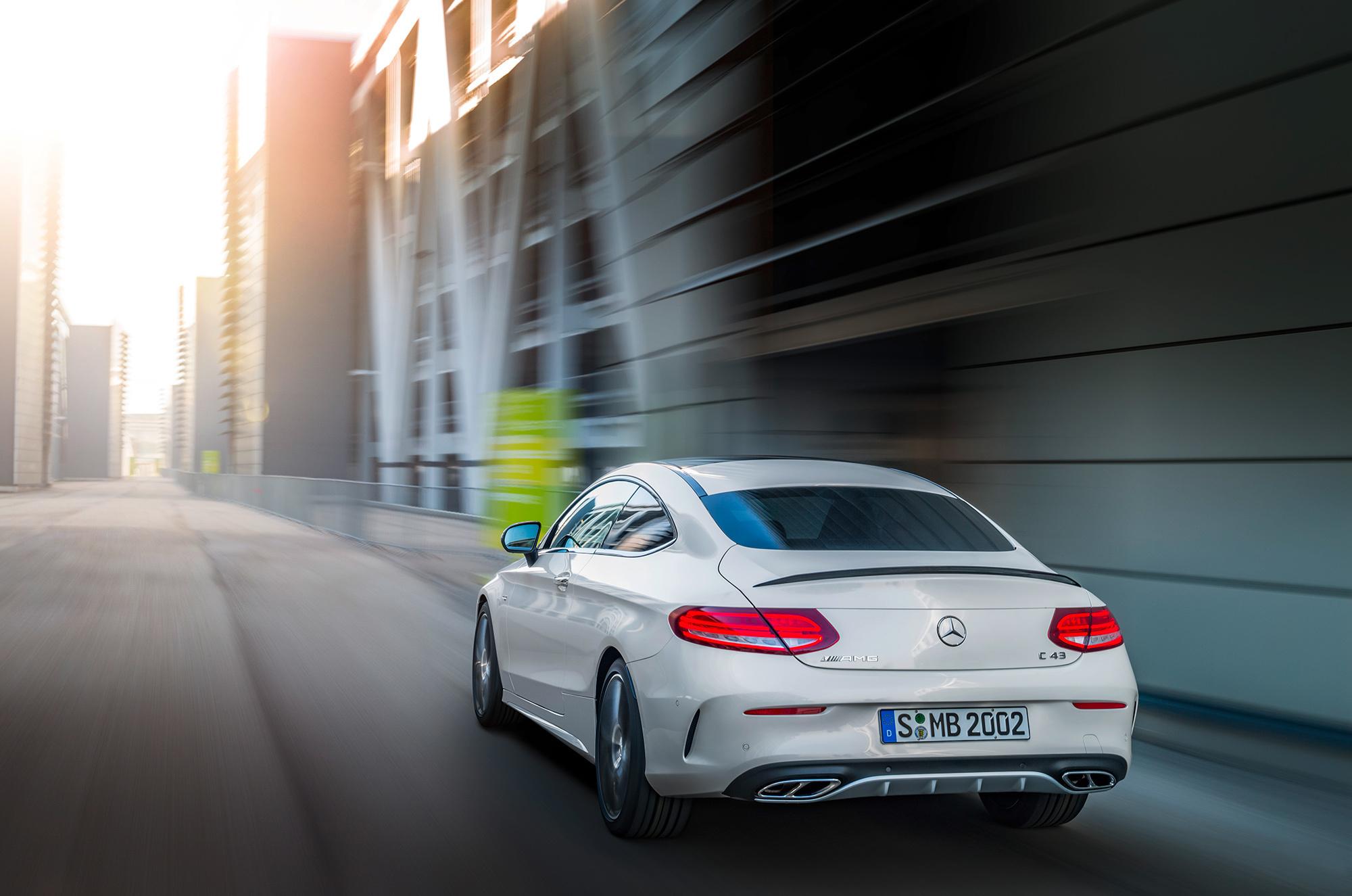 Mercedes AMG C 43 Widescreen