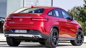 Mercedes Benz GLE Coupe Pictures