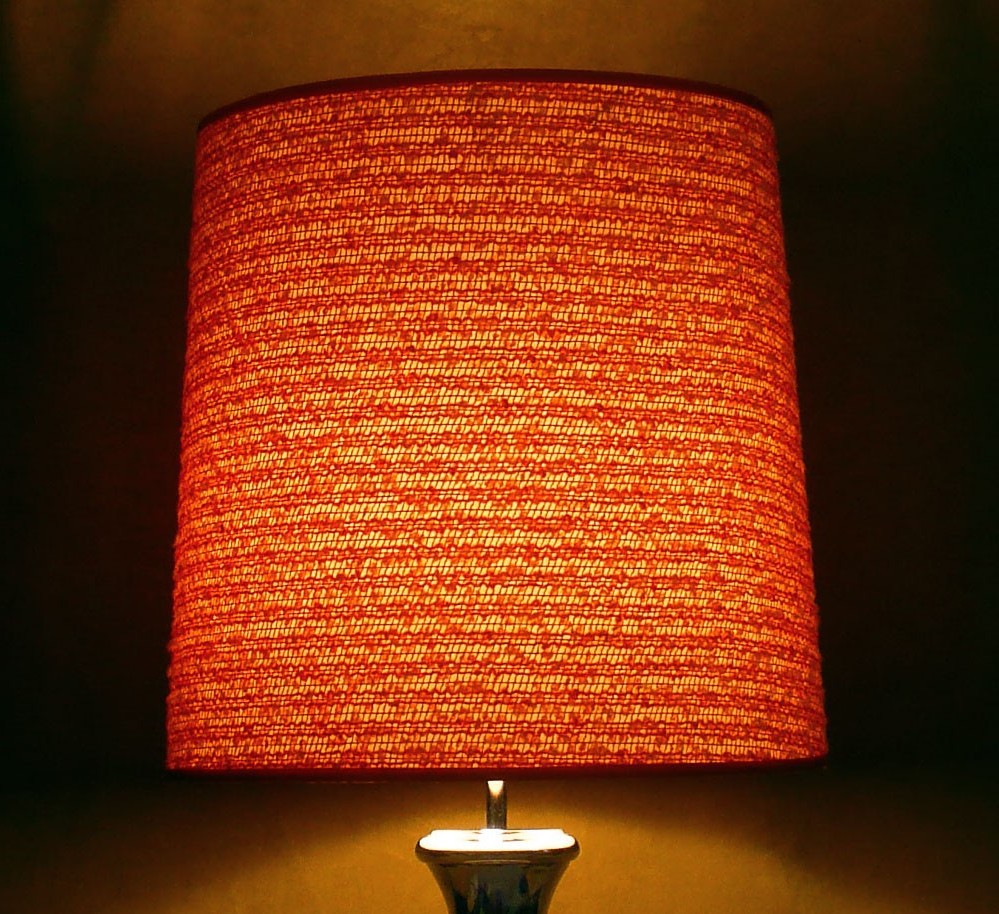 Orange Lampshades