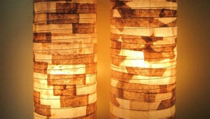 Paper Shade Floor Lamps