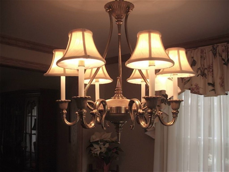 Lamp shades for pendant lights