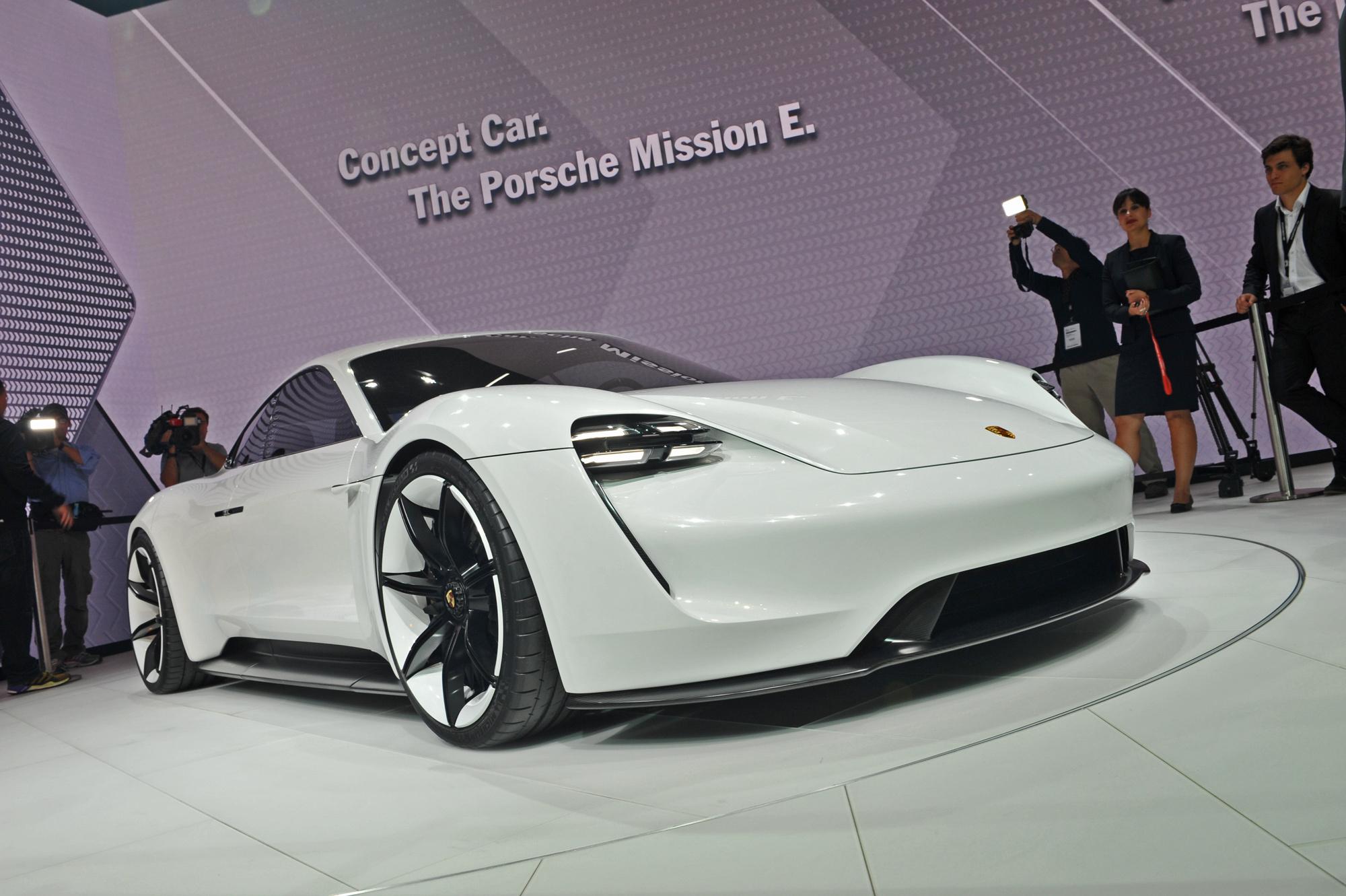 Porsche Mission E Images