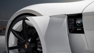 Porsche Mission E Photos