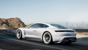 Porsche Mission E Wallpaper