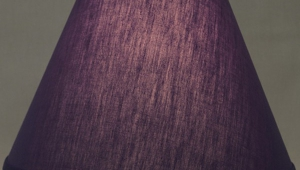 Purple Lampshades