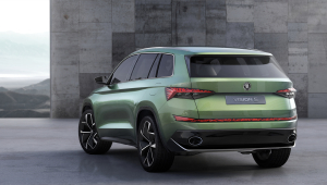 Skoda VisionS Pictures