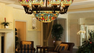 Tiffany Style Hanging Lamps