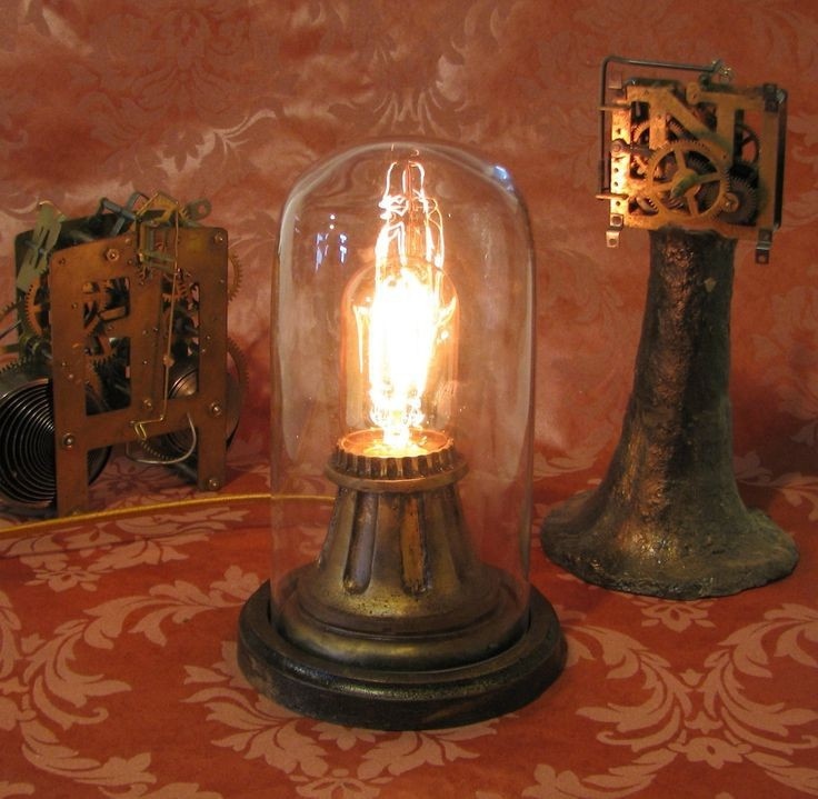 Vintage floor lamps with night light in base for Antique floor lamp with nightlight in base