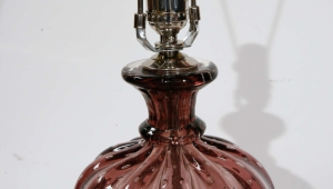 Vintage Murano Glass Table Lamps