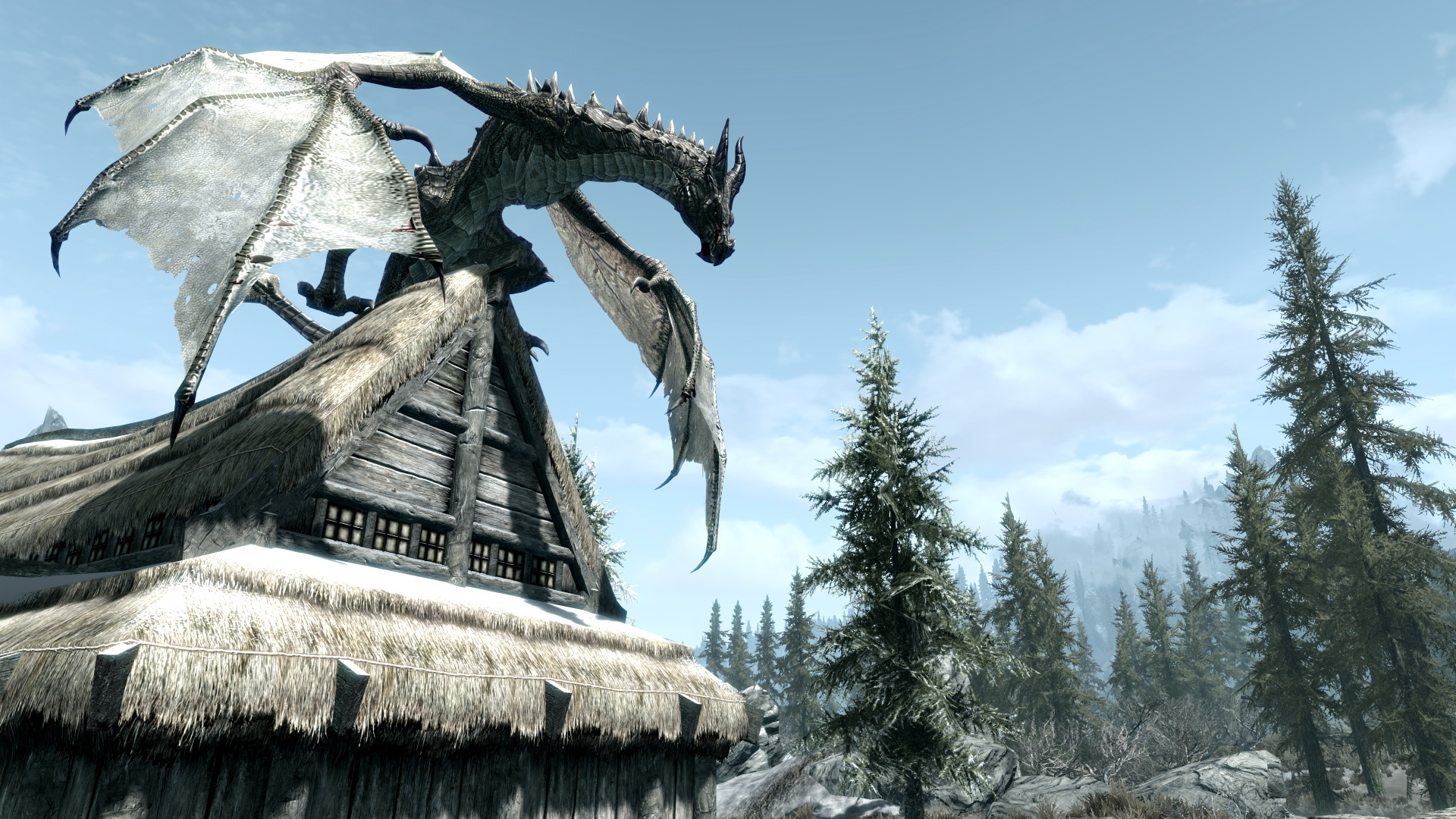Cool Skyrim Backgrounds