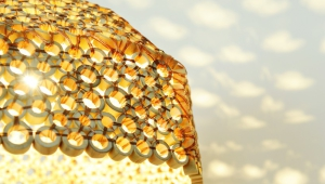 Gold Lampshades