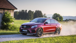 Picture Of Mercedes Benz GLE Coupe