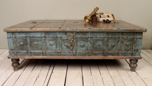 Antique Distressed Coffee Table