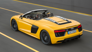 Audi R8 Spyder HD Background
