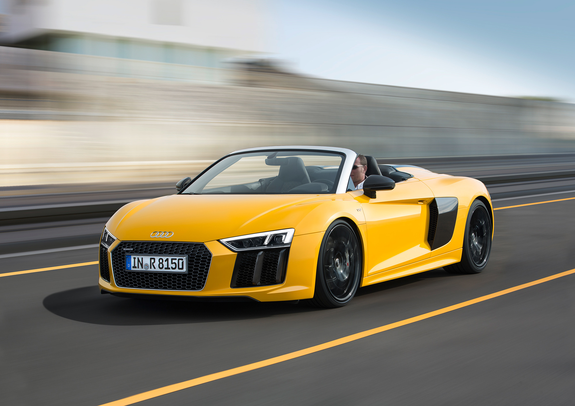 Audi R8 Spyder HD Wallpaper