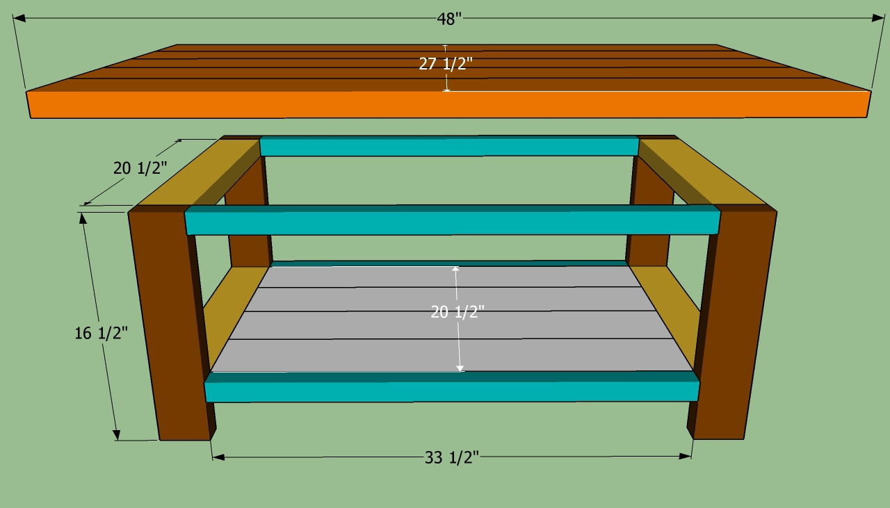 Coffee table plans design images photos pictures for Build best construction