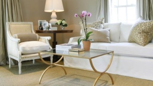 Brass Base Coffee Table