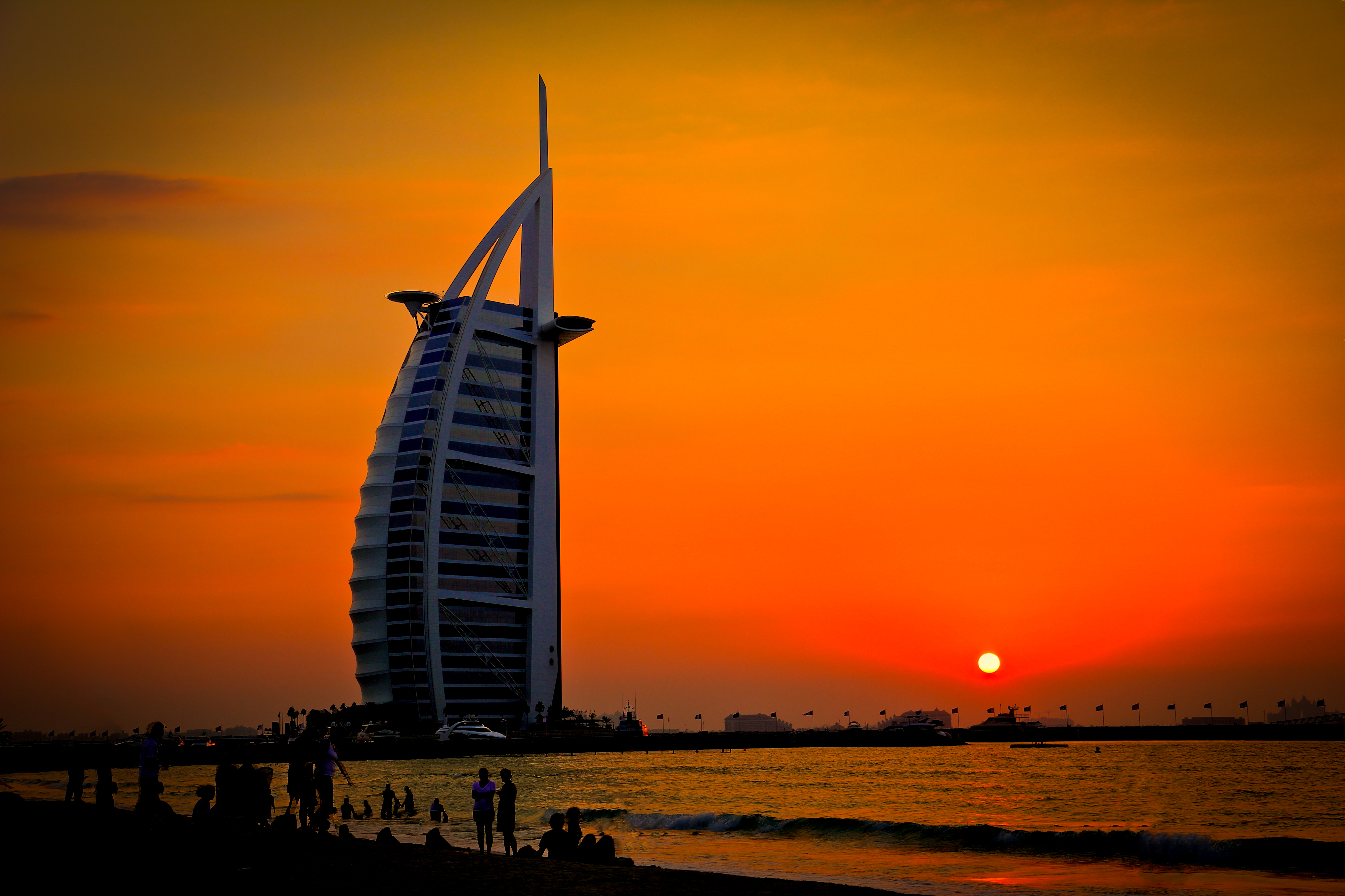 Burj Al Arab Background