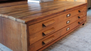 Chest Coffee Table With Drawers