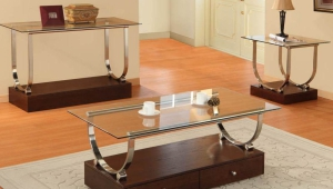 Coffee Table With Drawer Base