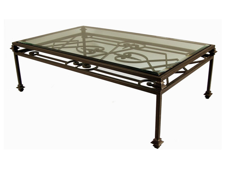 Wrought iron coffee table design images photos pictures Wrought iron coffee tables