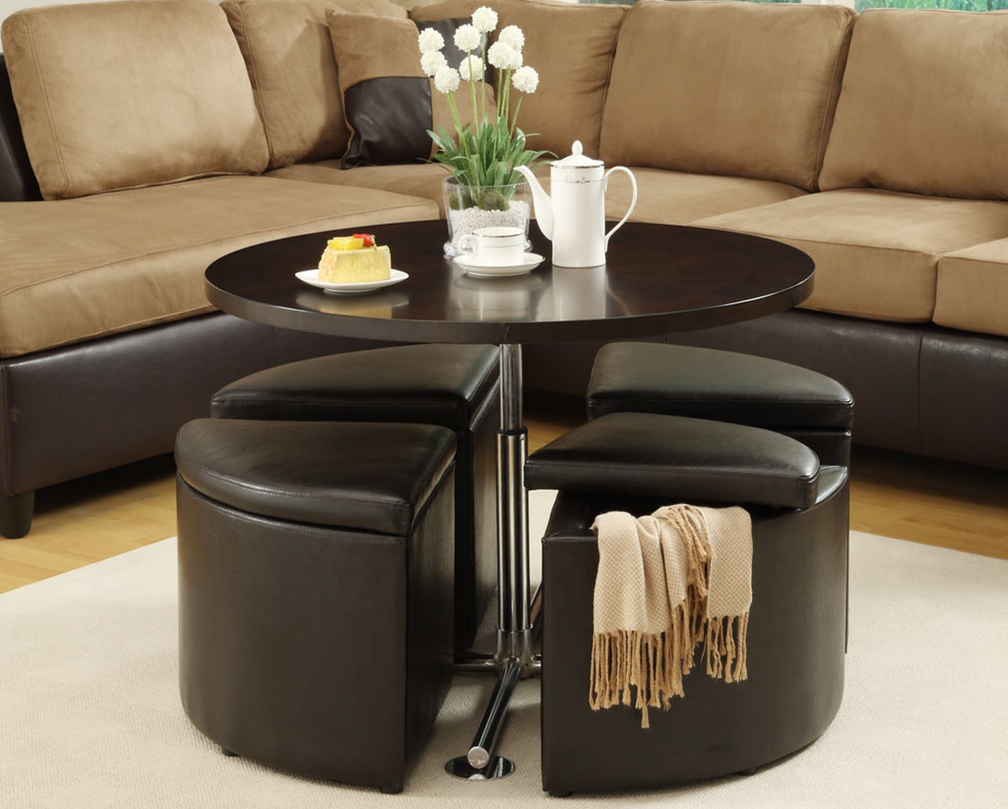 Coffee Tables For Small Spaces Design Images Photos Pictures