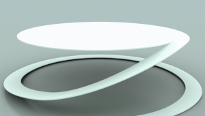 Contemporary Circular Coffee Table