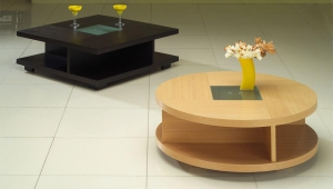 Dark And Light Small Coffee Tables