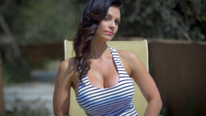 Denise Milani HD Background