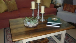 Different Sized Candleholders As Coffee Table Accessories