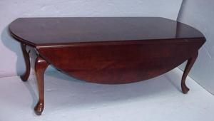 Elegant Drop Leaf Coffee Table