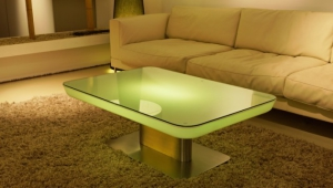 Elegant Led Coffee Table