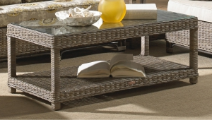 Elegant Rattan Coffee Table